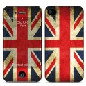 i-PAINT HARD CASE+SKIN OLD UK iPHONE 4/4S