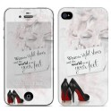 i-PAINT HARD CASE+SKIN MARILYN  iPHONE 4/4S