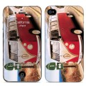 i-PAINT HARD CASE+SKIN CALIFORNIA iPHONE 4/4S