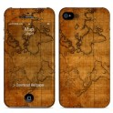 i-PAINT HARD CASE+SKIN MAP iPHONE 4/4S