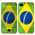 i-PAINT HARD CASE+SKIN BRASIL iPHONE 4/4S