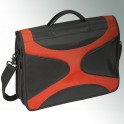SWISS TRAVEL URBAN VOYAGER NOTEBOOK BAG ORANGE/BLACK