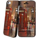 i-PAINT HARD CASE+SKIN LONDON PAINTING i-PHONE 5/5S