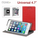 MOXIE BOOK CASE 4.7'' L RED UNIVERSAL ROTATE STAND FOLIOUNIVLRED