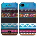 i-PAINT HARD CASE+SKIN ETHNIC i-PHONE 4/4S