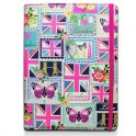 "ACCESSORIZE UTAC-C3-LONDON-8 TABLET BOOK CASE LONDON 8""+ i-PAD MINI"