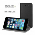 MOXIE BOOK CASE BOOK iPHONE5/5S FOLIOCOVIP5BLACK