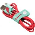 VESPA CABLE USB A - MICRO USB ACQUAMARINA 1.20m