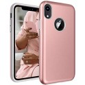 "MERCURY i-JELLY METAL CASE iPHONE XR 6.1"" PINK GOLD"