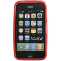 2GO 794063 TPU CASES RED iPHONE 3G/3GS