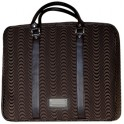 AGRODOLCE FUSTO2 NOTEBOOK BAG 15.6''  RONDO' BROWN