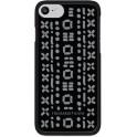 TRUSSARDI JEANS TRU7-STITCHESK BLACK STITCH CASE iPHONE 7/8