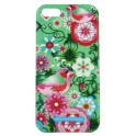 CATALINA ESTRADA 3487 CLIP ON PAJARO VERDE iPHONE 5/5S/5SE