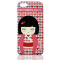 KIMMIDOLL JUNIOR CLIP ON CASE 3845 iPHONE 4/4S POPPY