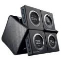 BOYNQ 6019-BK WAKE UP i-POD SPEAKER-RADIO-CLOCK BLACK