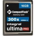 INTEGRAL CF 16.0GB ULTIMA PRO 300x ΚΑΡΤΑ ΜΝΗΜΗΣ
