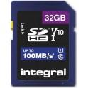 INTEGRAL SDHC 32.0GB C10 100/10MB ΚΑΡΤΑ ΜΝΗΜΗΣ