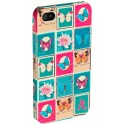 ACCESSORIZE IPAC-C1-STMP-4S-DB CLIP ON CASE iPHONE 4/4S STAMPS