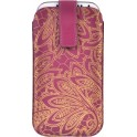 MONSOON CMS-UNI-CHPURP UNIVERSAL CASE iPHONE 4/4S/5/5S/5SE/5C SAMSUNG S3/S4  PURPLE