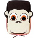 "TABZOO UTTZ-8 UNIVERSAL TABLET CASE FOR KIDS 7""-8"" MONKEY"