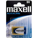 MAXELL MXBLR6LR61 ΑΛΚΑΛΙΚΗ ΜΠΑΤΑΡΙA 9V/6LR61 x 1pc