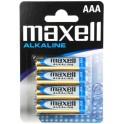 MAXELL MXBLR03 ΑΛΚΑΛΙΚΕΣ ΜΠΑΤΑΡΙΕΣ ΑΑΑ x 4pcs x 1.5V