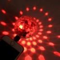 OMEGA OMBL MAGIC DISCO BALL COLOURFUL LIGHT 4W USB TO LIGHTNING