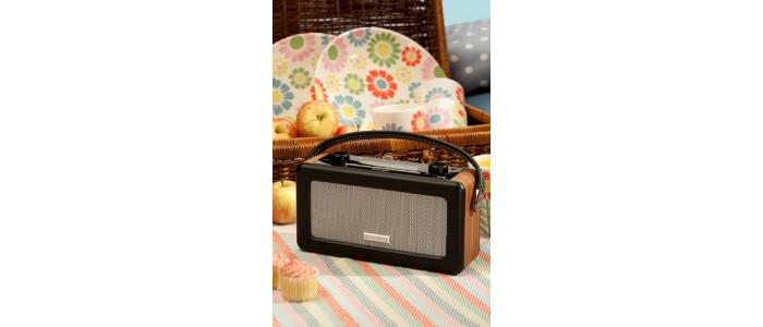 Ραδιόφωνα Ψηφιακά με Ξύλινο Έπιπλο
