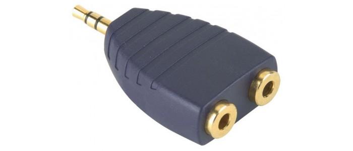 Αντάπτορ RCA - 2.5 mm - 3.5 mm - 6.3 mm