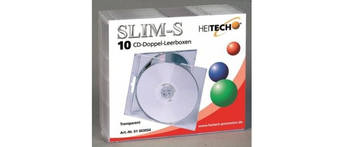 Πλαστικές & Χάρτινες & Σκληρές Θήκες CD/DVD