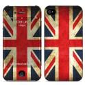 i-PAINT HARD CASE+SKIN OLD UK iPHONE 4/4S