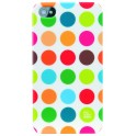 PAT SAYS NOW 4013 POLKA DOT CLIP ON CASE iPHONE 4/4S