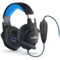 T'nB CSMGAME1 ELYTE GAMERS STEREO HEADPHONES FALCON BLACK USB