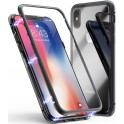 4-OK CRISTAL MAGNET BOOK CASE CMIXSB BLACK iPHONE X/XS