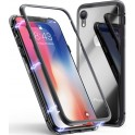 4-OK CRISTAL MAGNET BOOK CASE CMIXRB BLACK iPHONE XR