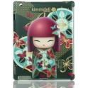 KIMMIDOLL 3050 iPAD 2/3/4 CLIP ON COVER SONOMI-AMISTAD