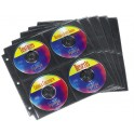 HAMA 49871 5 ΣΕΛΙΔΕΣ BLACK SYSCASE ΓΙΑ 40 CD