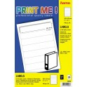 HAMA 50480 PRINT ME LABELS 190x38 140pcs