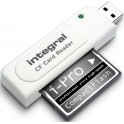 INTEGRAL CARD READER CF SINGLE SLOT USB 2.0