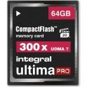 INTEGRAL CF 64.0GB ULTIMA PRO 300x ΚΑΡΤΑ ΜΝΗΜΗΣ