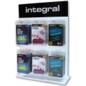 INTEGRAL TABLE DISPLAY STAND ACRYLIC WITH 6 HOOKS
