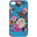 ACCESSORIZE IPAC-C1-BRSE-4S-DB CLIP ON CASE iPHONE 4/4S BLUE ROSES