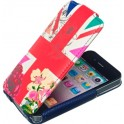 ACCESSORIZE IPAC-FL-UNJK-4S-DB FLIP CASE iPHONE 4/4S UNION JACK