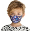PROFILED KIDS 8-12 COTTON FACE MASK GALAXY