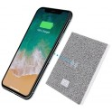 T'nB ICONIQ UQCHW10 WIRELESS CHARGER 10W GRAY