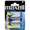 MAXELL MXBLR20 ΑΛΚΑΛΙΚΕΣ ΜΠΑΤΑΡΙΕΣ D/LR20 1.5V x 2pcs