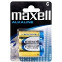 MAXELL MXBLR14 ΑΛΚΑΛΙΚΕΣ ΜΠΑΤΑΡΙΕΣ C/LR14 1.5V x 2pcs