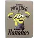"MINIONS UTMN-8-BANANA TABLET BOOK CASE 8""+ i-PAD MINI 1/2/3/4"