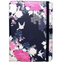 "ACCESSORIZE UTAC-8-NVYBLOOM TABLET BOOK CASE NAVY BLOOM 8""+ i-PAD MINI"