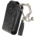 KRUSELL 95168 COUTURE LEATHER MOBILE CASE BLACK/SILVER